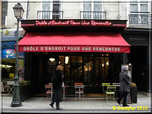 rencontre bars paris